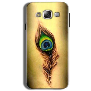 Samsung Galaxy J2 Ace Mobile Covers Cases Peacock coloured art - Lowest Price - Paybydaddy.com