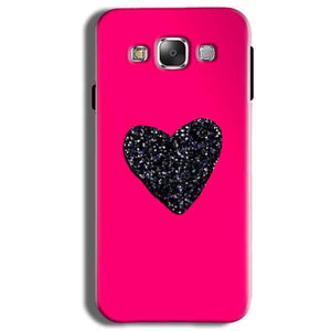 Samsung Galaxy J2 Ace Mobile Covers Cases Pink Glitter Heart - Lowest Price - Paybydaddy.com