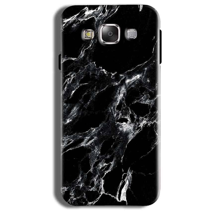 Samsung Galaxy J2 Ace Mobile Covers Cases Pure Black Marble Texture - Lowest Price - Paybydaddy.com