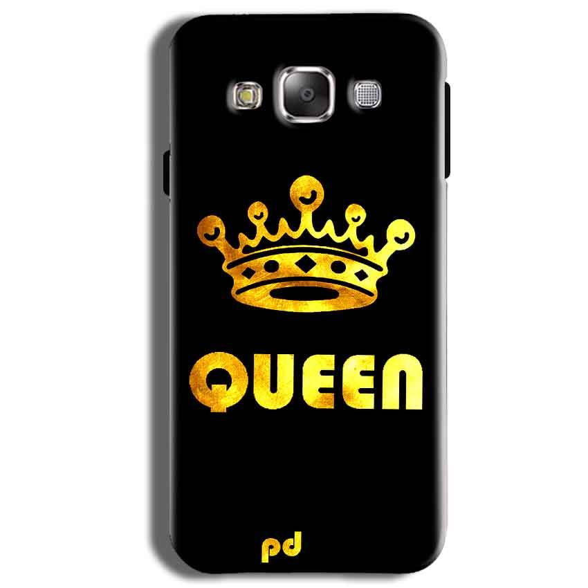 Samsung Galaxy J2 Ace Mobile Covers Cases Queen With Crown in gold - Lowest Price - Paybydaddy.com
