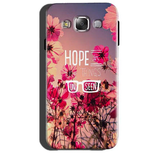 Samsung Galaxy J2 Prime Mobile Covers Cases Hope in the Things Unseen- Lowest Price - Paybydaddy.com