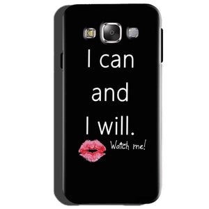 Samsung Galaxy J2 Prime Mobile Covers Cases i can and i will Lips - Lowest Price - Paybydaddy.com