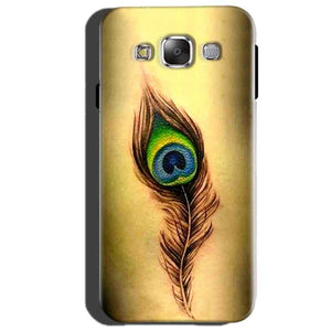 Samsung Galaxy J2 Prime Mobile Covers Cases Peacock coloured art - Lowest Price - Paybydaddy.com
