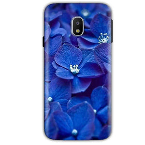 Samsung Galaxy J2 Pro 2018 Mobile Covers Cases Blue flower - Lowest Price - Paybydaddy.com