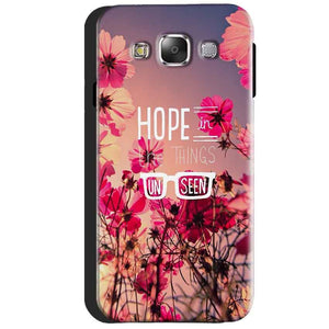 Samsung Galaxy J3 2016 Mobile Covers Cases Hope in the Things Unseen- Lowest Price - Paybydaddy.com