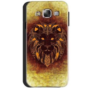 Samsung Galaxy J3 2016 Mobile Covers Cases Lion face art - Lowest Price - Paybydaddy.com