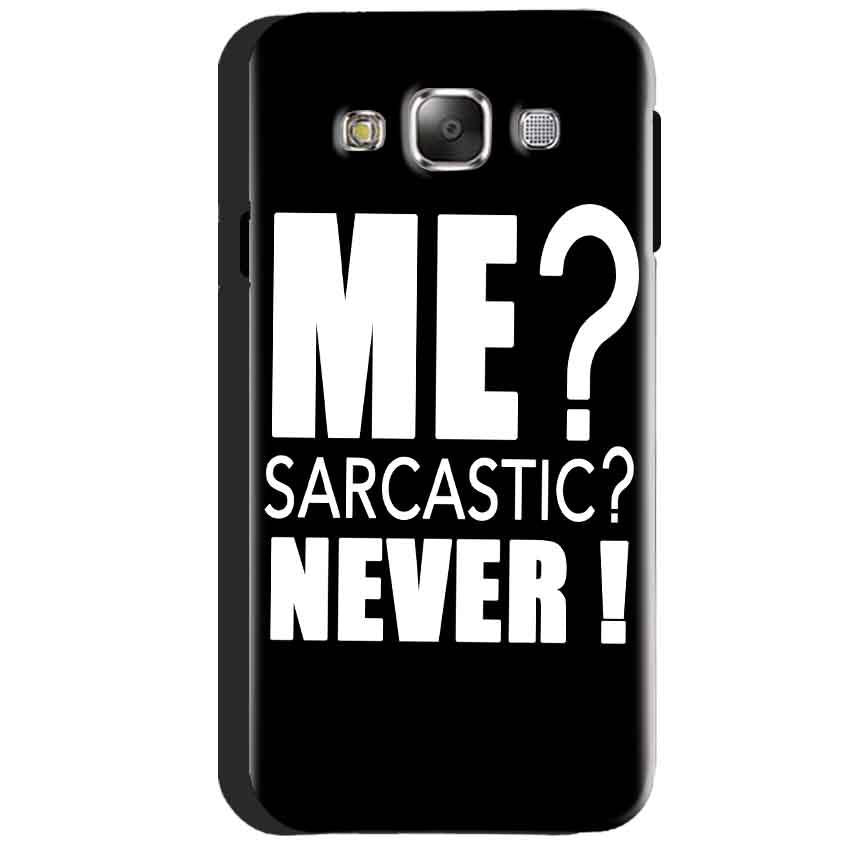 Samsung Galaxy J3 2016 Mobile Covers Cases Me sarcastic - Lowest Price - Paybydaddy.com