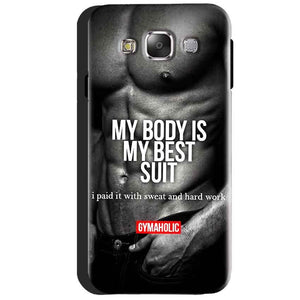 Samsung Galaxy J3 2016 Mobile Covers Cases My Body is my best suit - Lowest Price - Paybydaddy.com