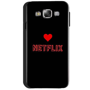 Samsung Galaxy J3 2016 Mobile Covers Cases NETFLIX WITH HEART - Lowest Price - Paybydaddy.com