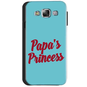 Samsung Galaxy J3 2016 Mobile Covers Cases Papas Princess - Lowest Price - Paybydaddy.com