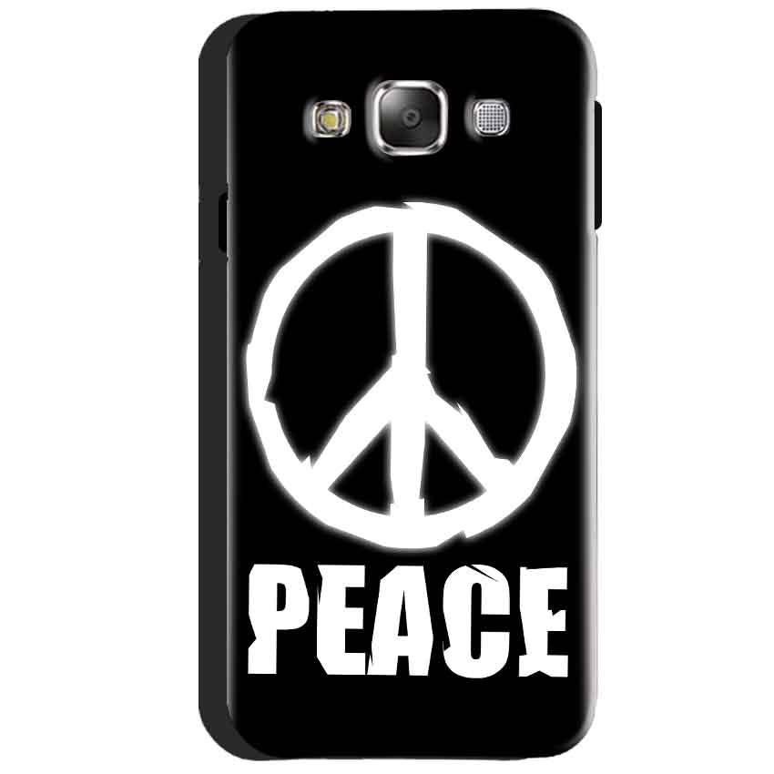 Samsung Galaxy J3 2016 Mobile Covers Cases Peace Sign In White - Lowest Price - Paybydaddy.com
