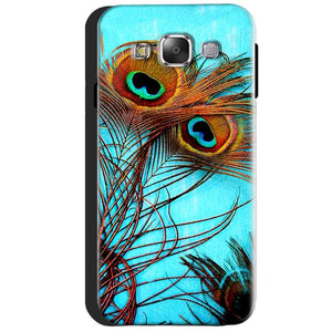 Samsung Galaxy J3 2016 Mobile Covers Cases Peacock blue wings - Lowest Price - Paybydaddy.com