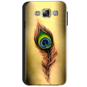 Samsung Galaxy J3 2016 Mobile Covers Cases Peacock coloured art - Lowest Price - Paybydaddy.com