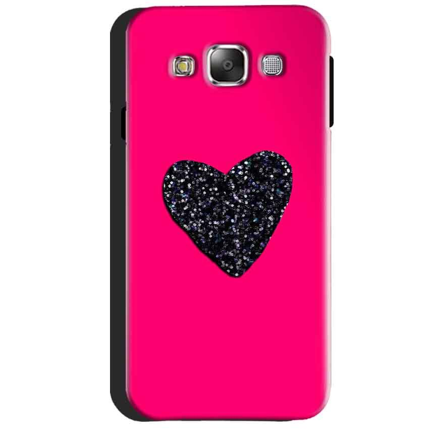 Samsung Galaxy J3 2016 Mobile Covers Cases Pink Glitter Heart - Lowest Price - Paybydaddy.com