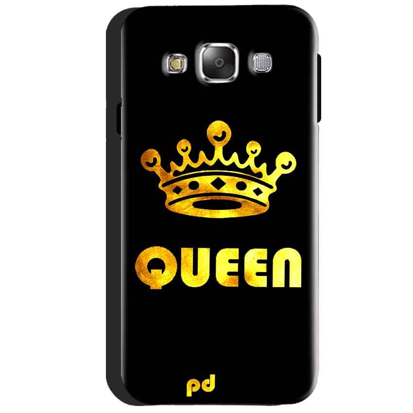 Samsung Galaxy J3 2016 Mobile Covers Cases Queen With Crown in gold - Lowest Price - Paybydaddy.com
