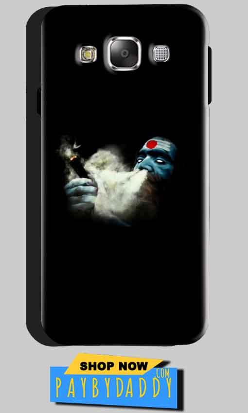 Samsung Galaxy J3 2016 Mobile Covers Cases Shiva Aghori Smoking - Lowest Price - Paybydaddy.com