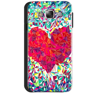 Samsung Galaxy J3 2016 Mobile Covers Cases heart Prisma design - Lowest Price - Paybydaddy.com