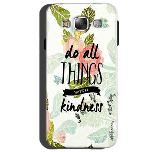 Samsung Galaxy J3 Mobile Covers Cases Do all things with kindness - Lowest Price - Paybydaddy.com