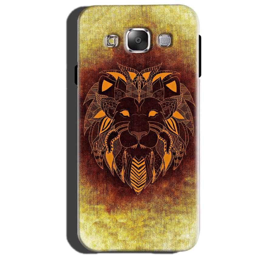 Samsung Galaxy J3 Mobile Covers Cases Lion face art - Lowest Price - Paybydaddy.com