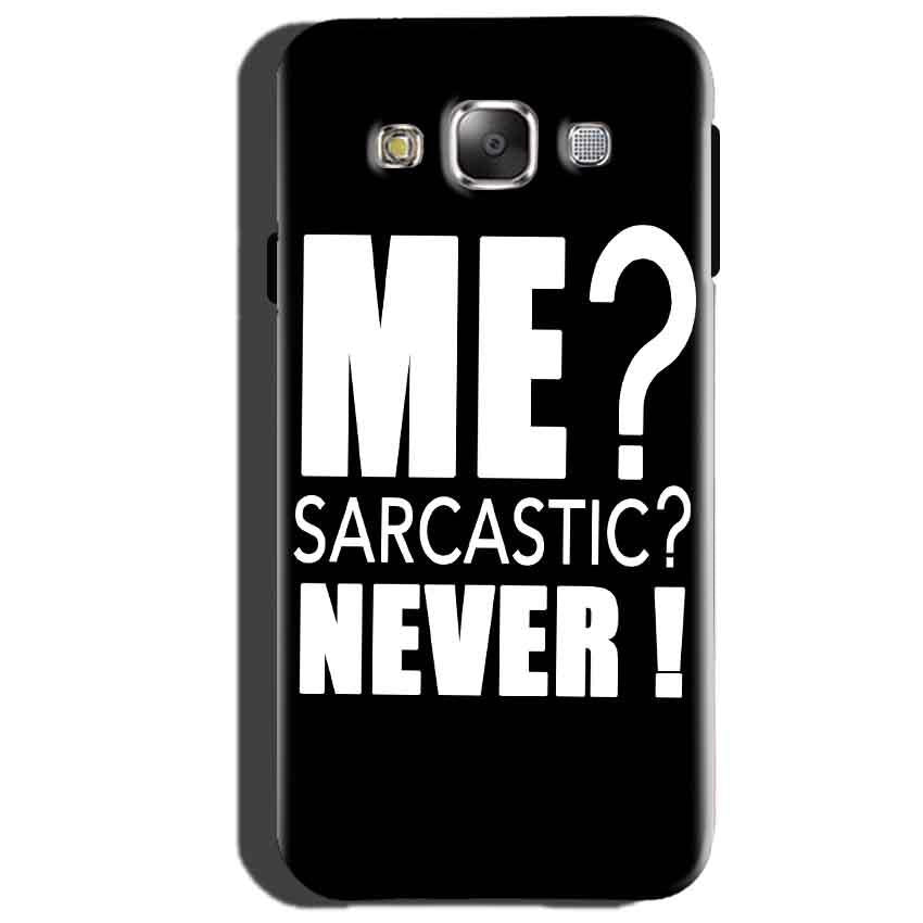 Samsung Galaxy J3 Mobile Covers Cases Me sarcastic - Lowest Price - Paybydaddy.com