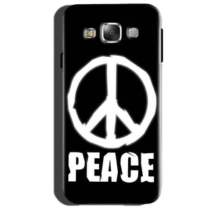 Samsung Galaxy J3 Mobile Covers Cases Peace Sign In White - Lowest Price - Paybydaddy.com