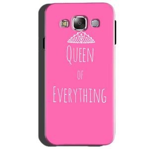 Samsung Galaxy J3 Mobile Covers Cases Queen Of Everything Pink White - Lowest Price - Paybydaddy.com
