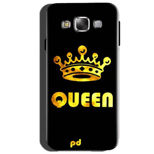 Samsung Galaxy J3 Mobile Covers Cases Queen With Crown in gold - Lowest Price - Paybydaddy.com