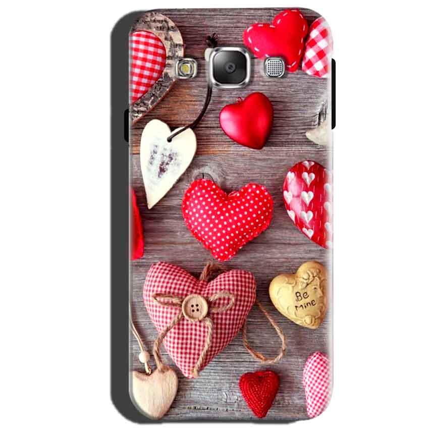 Samsung Galaxy J5 2015 Mobile Covers Cases Hearts- Lowest Price - Paybydaddy.com