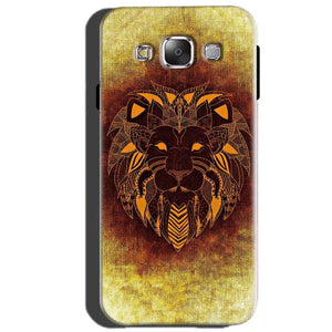 Samsung Galaxy J5 2015 Mobile Covers Cases Lion face art - Lowest Price - Paybydaddy.com