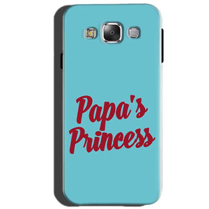 Samsung Galaxy J5 2015 Mobile Covers Cases Papas Princess - Lowest Price - Paybydaddy.com