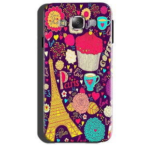 Samsung Galaxy J5 2015 Mobile Covers Cases Paris Sweet love - Lowest Price - Paybydaddy.com
