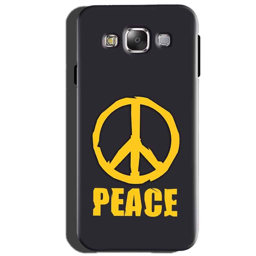 Samsung Galaxy J5 2015 Mobile Covers Cases Peace Blue Yellow - Lowest Price - Paybydaddy.com