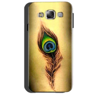 Samsung Galaxy J5 2015 Mobile Covers Cases Peacock coloured art - Lowest Price - Paybydaddy.com