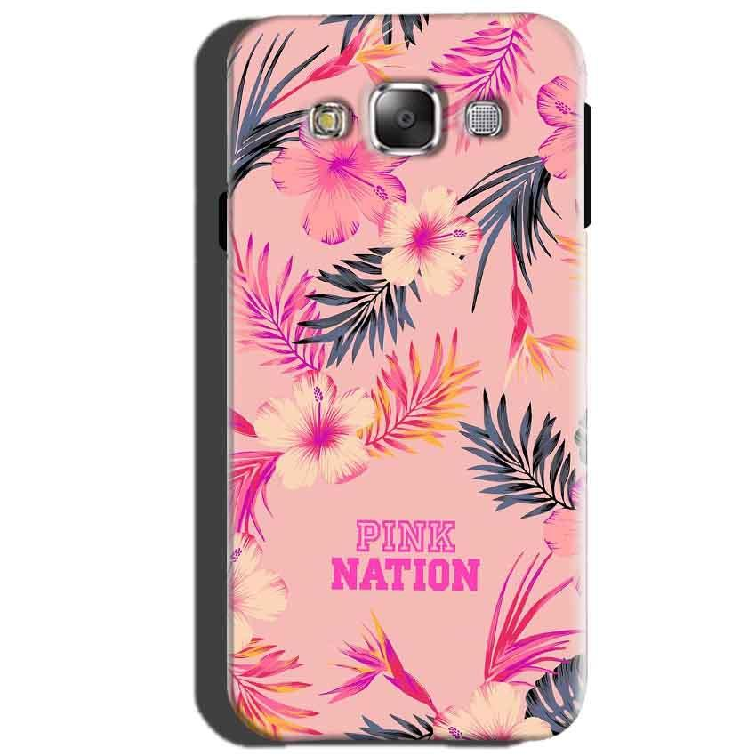 Samsung Galaxy J5 2015 Mobile Covers Cases Pink nation - Lowest Price - Paybydaddy.com