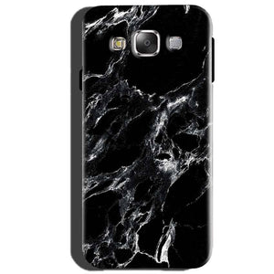 Samsung Galaxy J5 2015 Mobile Covers Cases Pure Black Marble Texture - Lowest Price - Paybydaddy.com
