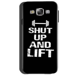 Samsung Galaxy J5 2015 Mobile Covers Cases Shut Up And Lift - Lowest Price - Paybydaddy.com