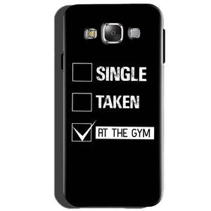 Samsung Galaxy J5 2015 Mobile Covers Cases Single Taken At The Gym - Lowest Price - Paybydaddy.com