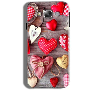 Samsung Galaxy J5 2016 Mobile Covers Cases Hearts- Lowest Price - Paybydaddy.com