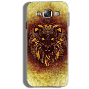 Samsung Galaxy J5 2016 Mobile Covers Cases Lion face art - Lowest Price - Paybydaddy.com