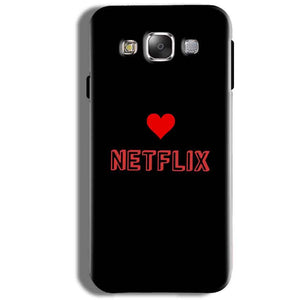 Samsung Galaxy J5 2016 Mobile Covers Cases NETFLIX WITH HEART - Lowest Price - Paybydaddy.com