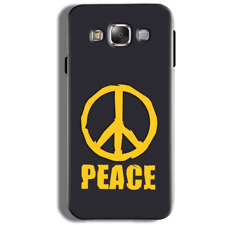 Samsung Galaxy J5 2016 Mobile Covers Cases Peace Blue Yellow - Lowest Price - Paybydaddy.com