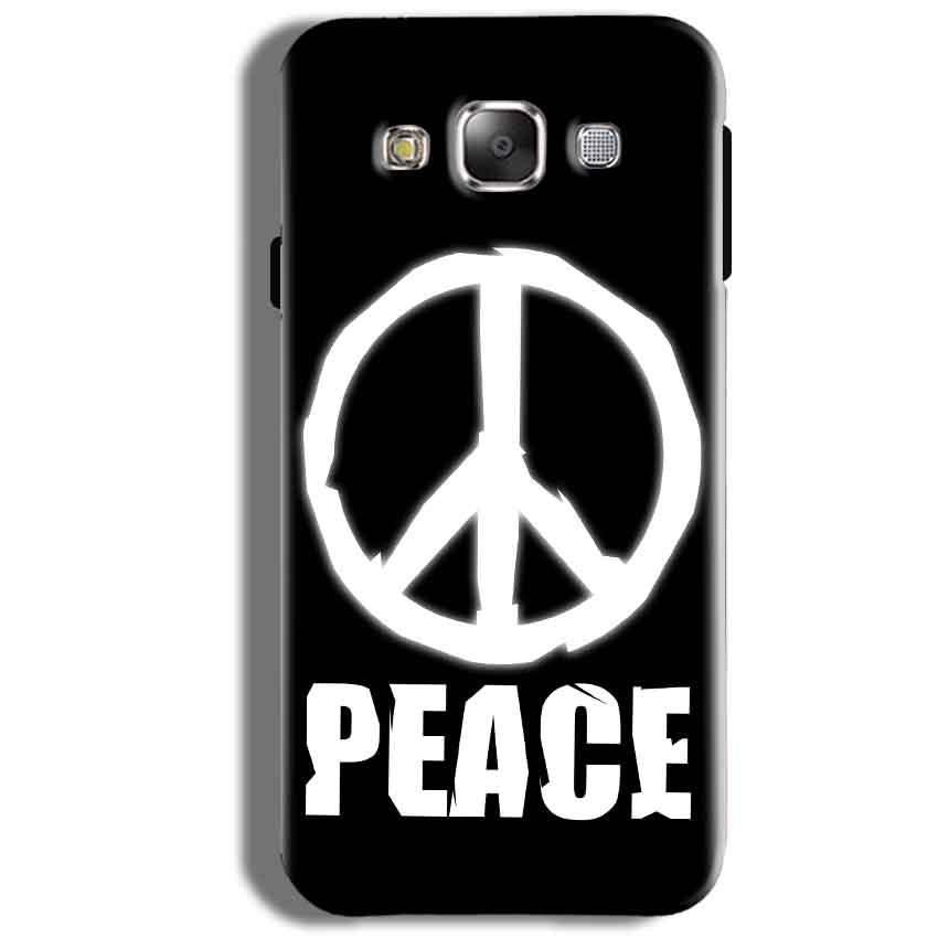 Samsung Galaxy J5 2016 Mobile Covers Cases Peace Sign In White - Lowest Price - Paybydaddy.com