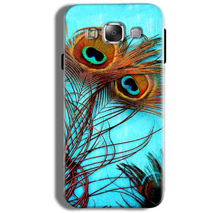 Samsung Galaxy J5 2016 Mobile Covers Cases Peacock blue wings - Lowest Price - Paybydaddy.com