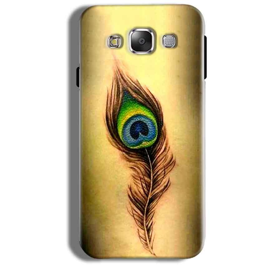 Samsung Galaxy J5 2016 Mobile Covers Cases Peacock coloured art - Lowest Price - Paybydaddy.com