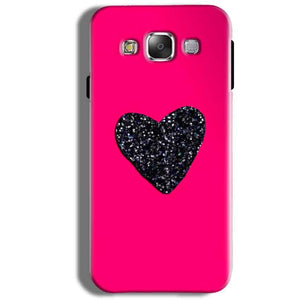 Samsung Galaxy J5 2016 Mobile Covers Cases Pink Glitter Heart - Lowest Price - Paybydaddy.com