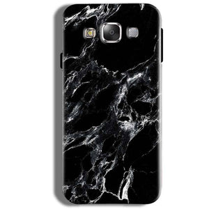 Samsung Galaxy J5 2016 Mobile Covers Cases Pure Black Marble Texture - Lowest Price - Paybydaddy.com
