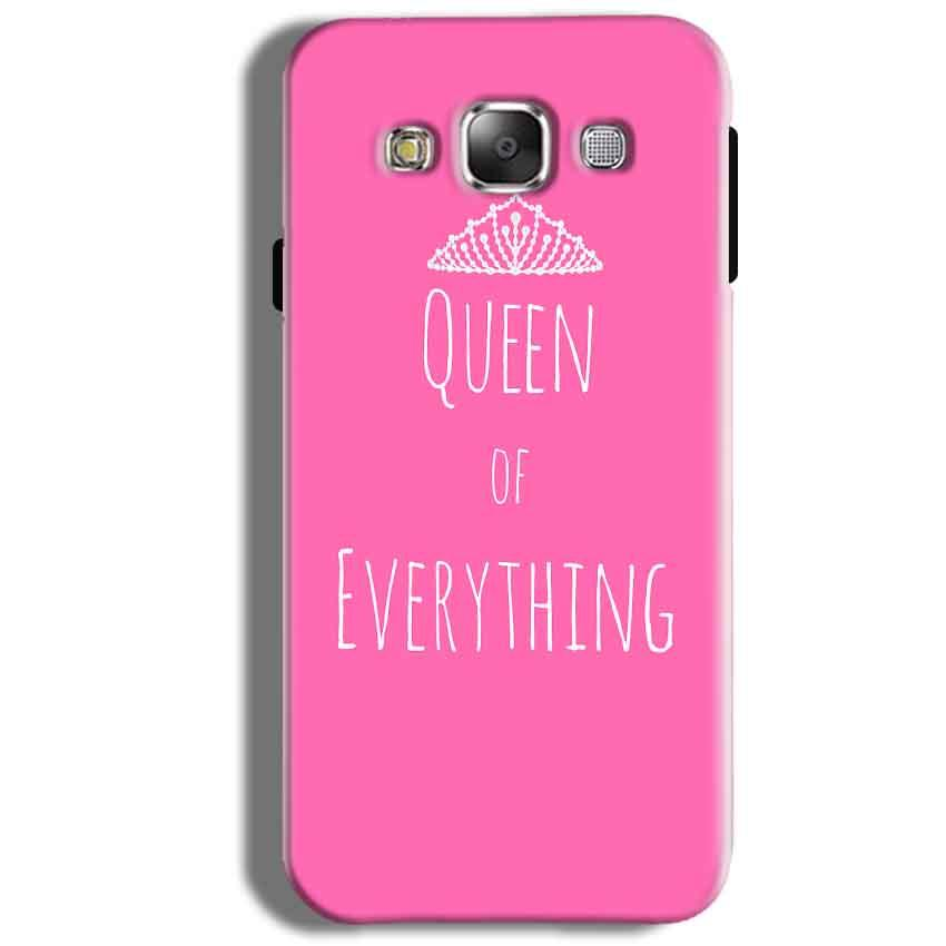 Samsung Galaxy J5 2016 Mobile Covers Cases Queen Of Everything Pink White - Lowest Price - Paybydaddy.com