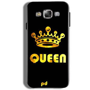 Samsung Galaxy J5 2016 Mobile Covers Cases Queen With Crown in gold - Lowest Price - Paybydaddy.com