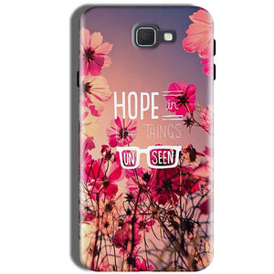 Samsung Galaxy J5 Prime Mobile Covers Cases Hope in the Things Unseen- Lowest Price - Paybydaddy.com