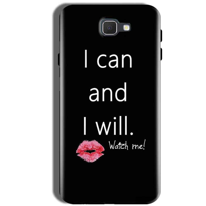 Samsung Galaxy J5 Prime Mobile Covers Cases i can and i will Lips - Lowest Price - Paybydaddy.com